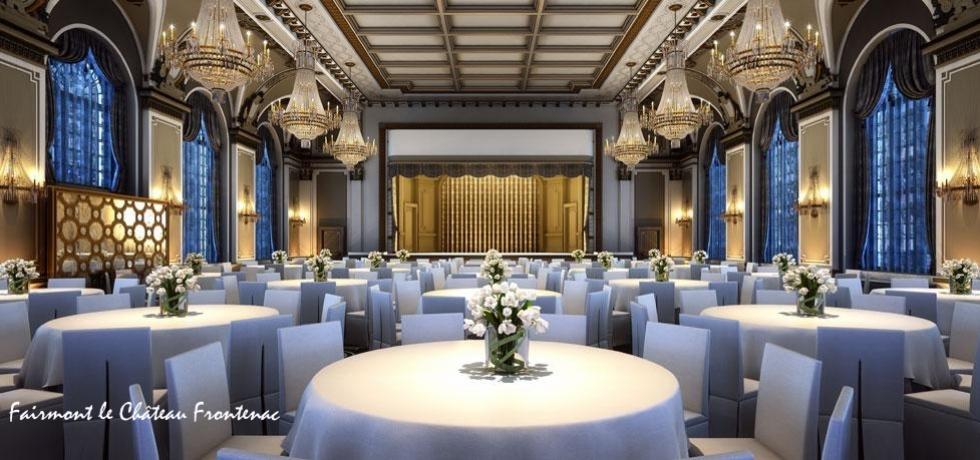 Réunions  En choisissant l'une de nos salles d'événements, vous serez certains d'impressionner vos invités. Tous nos espaces offrent de la lumière naturelle, ce qui créera une expériences enivrante pour votre groupe. De plus, être entouré de plus de 100 a